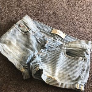 Stripped Hollister Shorts